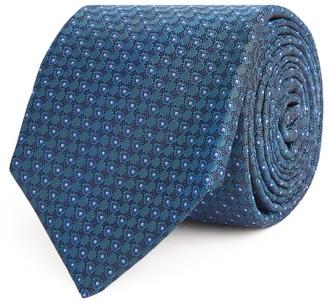 Kiton Silk Printed Tie