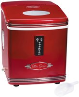 Nostalgia Electrics Retro Series High Capacity '50s-Style Automatic Ice Maker - RIC100 - Red