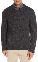 Peter Millar Men's Veneto Cashmere & Wool Cable Knit Sweater