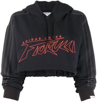 Fiorucci x Adidas cropped sweatshirt