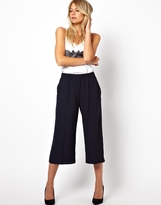 Asos Chic Straight Culottes