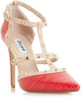 Dune Daenerys Studded High Heel Courst Shoes