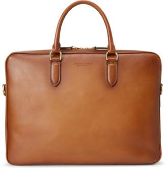 Ralph Lauren Burnished Vachetta Briefcase