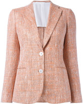 Kiton two button blazer - women - Silk/Cotton - 42