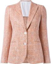 Kiton two button blazer - women - Silk/Cotton - 44
