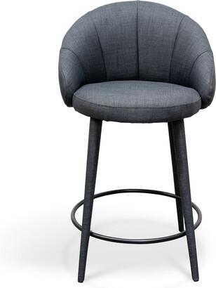 Calibre Furniture Netherby Bar Stool Slate Grey
