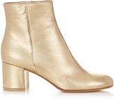 Gianvito Rossi Margaux block-heel leather ankle boots