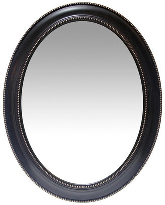 Infinity Instruments Oval Wall Mirror; Sonore Black, 30""
