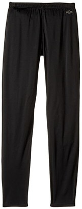 Hot Chillys Kids Peachskins Bottom (Little Kids/Big Kids) (Black) Girl's Clothing