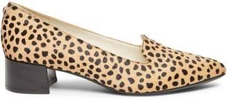 Anne Klein Kimbra Leopard-Print Calf Hair Pumps