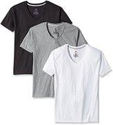 Hanes Men's 3-Pack Comfort Blend Dyed V-neck