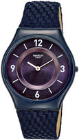 Swatch Unisex Swiss Tech Mode Blue Fabric Strap Watch 34mm SFN123