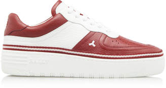 Bally Oskar Two-Tone Leather Sneakers Size: 7