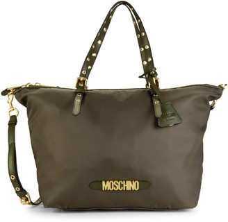 Moschino Grommet-Detailed Tote