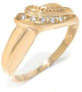 Tatitoto Gioie Women's Ring in 18k Gold with Diamond H/SI (total diamonds 0.04 ct), Size 6, 2.9 Grams