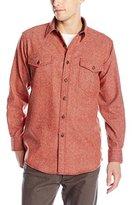 Pendleton Men's Fitted Cascade Wool-Denim Button-Front Shirt