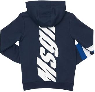 MSGM Zip-Up Cotton Sweatshirt