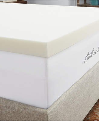 """Authentic Comfort 3"""" Breathable Memory Foam Twin Xl Mattress Topper"""