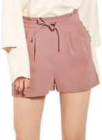 Topshop Frill Waist Shorts