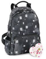 Bari Lynn School Dark Denim Backpack
