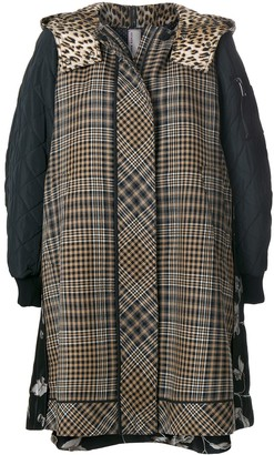 Antonio Marras Panelled Hooded Jacket