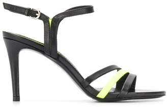 Ash strappy buckle sandals