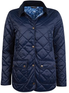 Barbour Laura Ashley Spruce Quilted Jacket
