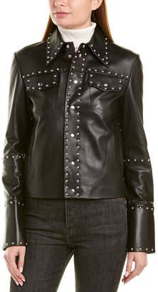 Helmut Lang Studded Leather Jacket