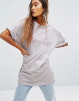 Ellesse Oversized T-Shirt With Tonal Logo