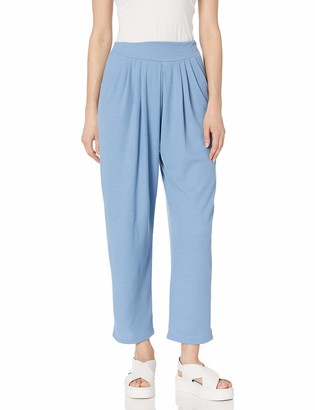 Only Hearts Women's Waffle Knit Pleated Pant