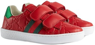 Gucci Kids Ace logo sneakers