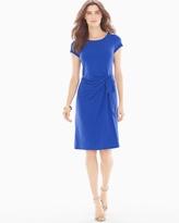 Soma Intimates Short Sleeve Madison Short Dress Cobalt