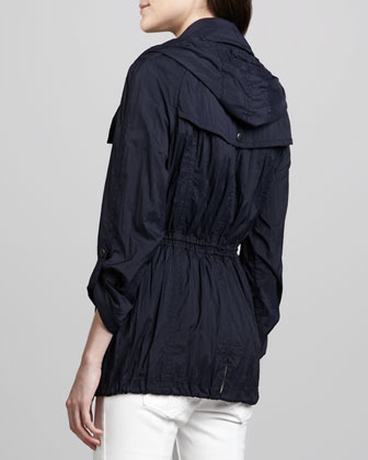 Burberry Lightweight Trench-Inspired Parka Jacket