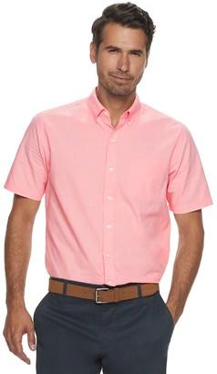 Croft & Barrow Men's Easy-Care Poplin Button-Down Shirt
