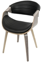 Lumisource Symphony Mid-Century Dining Chair