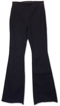 Tinseltown Juniors' High Rise Pull-On Flare Jeans