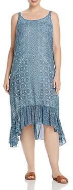 Santorini Nic+Zoe Plus Tiles High/Low Tank Dress