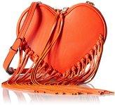 Rebecca Minkoff Heart Fringe Bucket Cross Body