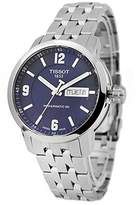 Tissot Men's T0554301104700 Analog Display Swiss Automatic Silver Watch