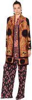 Etro Wool Blend Jacquard Coat