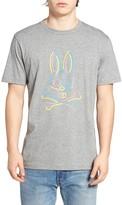 Psycho Bunny SoHo Neon Graphic Crew Neck Tee