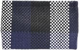 Jigsaw Woven Check Clutch Bag