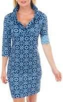 Gretchen Scott Bombay Navy Dress