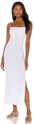 Enza Costa X REVOVLE Strappy Side Slit Maxi Dress
