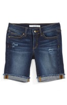 Joe's Jeans Girl's Frayed Roll Cuff Bermuda Shorts