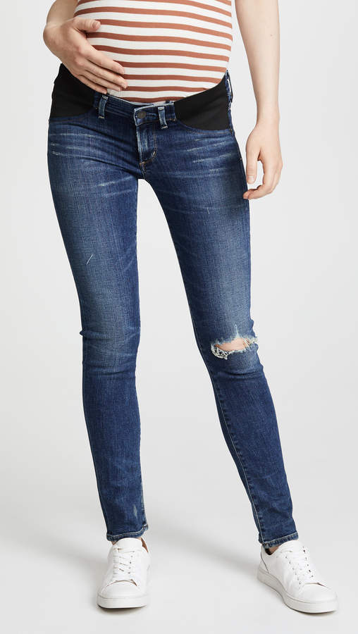 Citizens of Humanity Racer Ultra Maternity Skinny Jeans