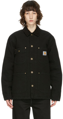 Carhartt Work In Progress Black OG Chore Jacket