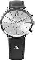 Maurice Lacroix El1088-ss001-110 Eliros Stainless Steel And Leather Watch