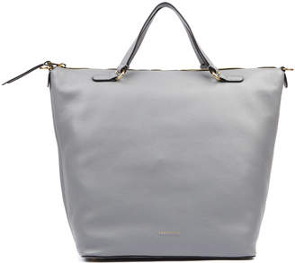 Coccinelle Nikki Grey Leather Tote