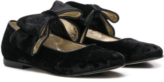 Gallucci Kids Bow-Tie Ballerinas